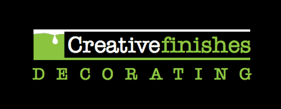 Creative Finishes Painters and Decorators Logo for Royston, Cambridge, Letchworth and Hertfordshire